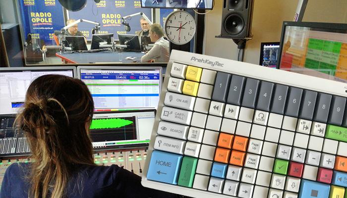 Programmierbare Tastatur für Radio Opole