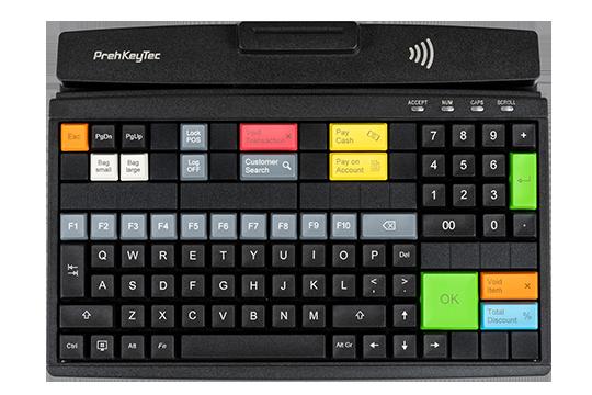 Modulare, programmierbare Tastatur