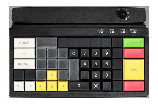 Kleine, programmierbare Tastatur