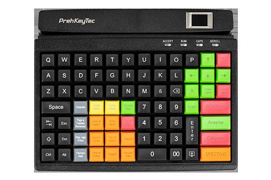 Flexible, programmierbare Tastatur