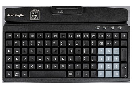 Programmierbare Kompakttastatur