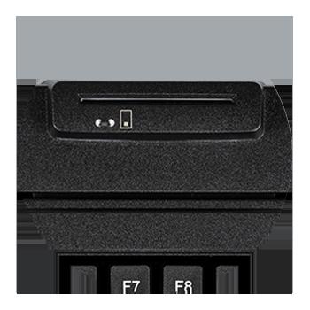 Smart Card in der Tastatur