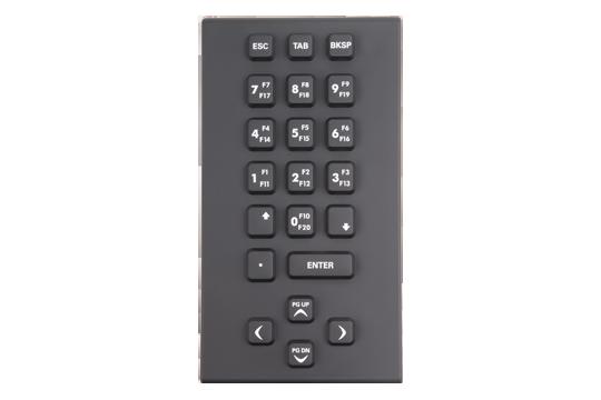 Robuste, numerische Silikon-Tastatur