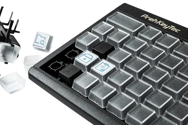 Tastatur mit Tastenwechseltechnik