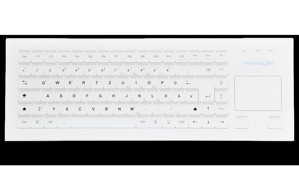 HospiTouch  die Tastatur mit Glasoberfläche