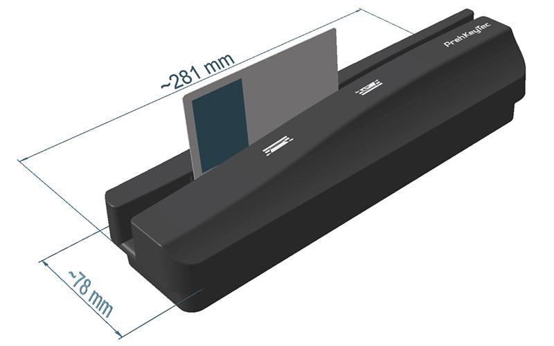 ML 2 | OCR Scanner und Magnetkartenleser