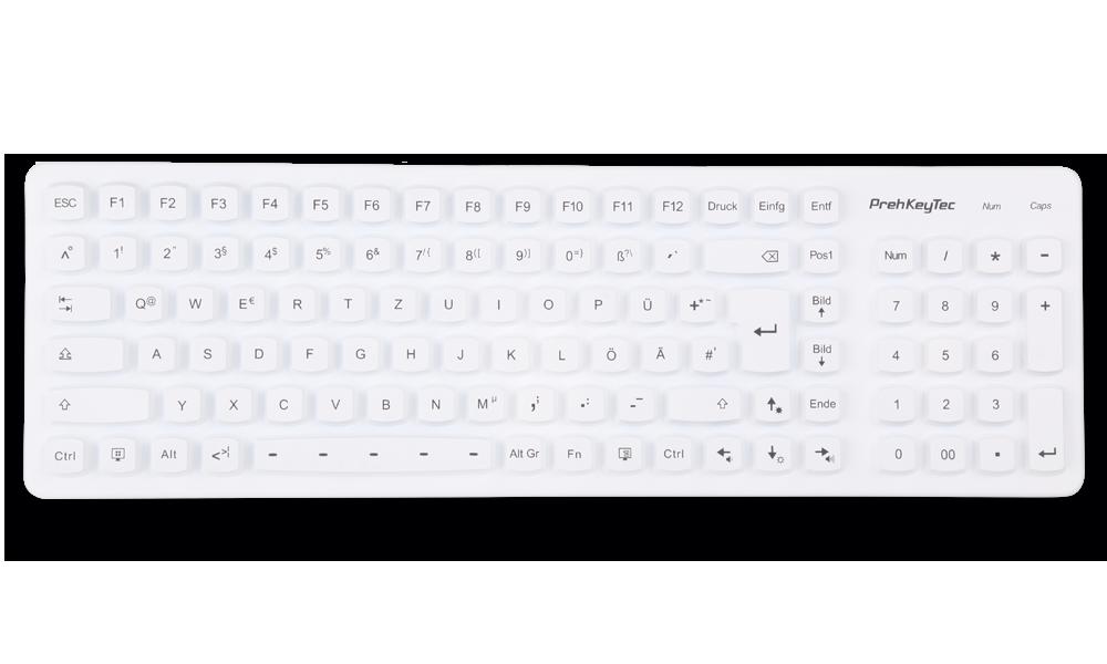 SIK 2500 Silikon Tastatur