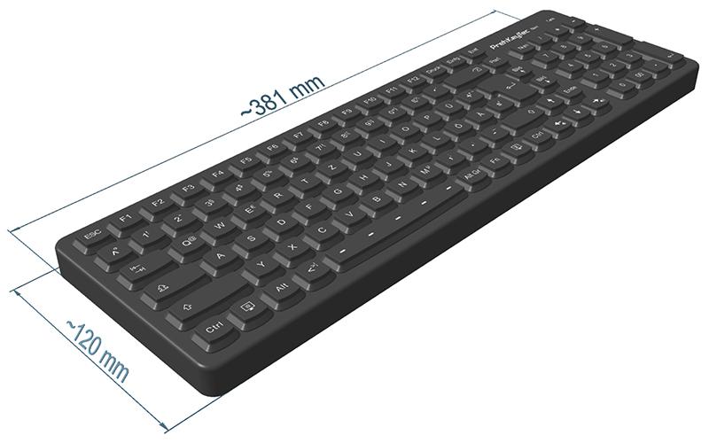 SIK 2500   Silikon-Tastatur