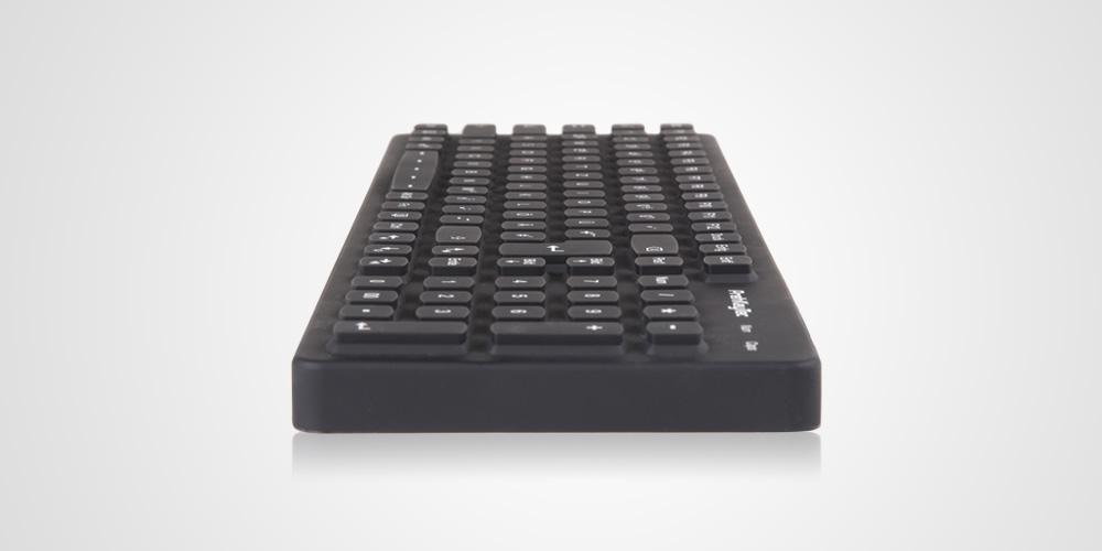 SIK 2500 Beleuchtete USB Tastatur mit  Silikonoberfläche
